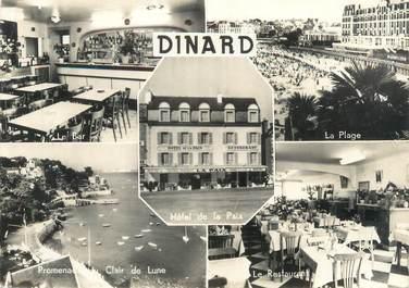 """CPSM FRANCE 35 """"Dinard, hôtel de la Paix"""""""