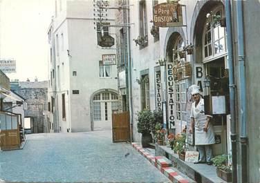 """CPSM FRANCE 35 """"Saint Malo, hôtel restaurant chez le Père Gaston"""""""
