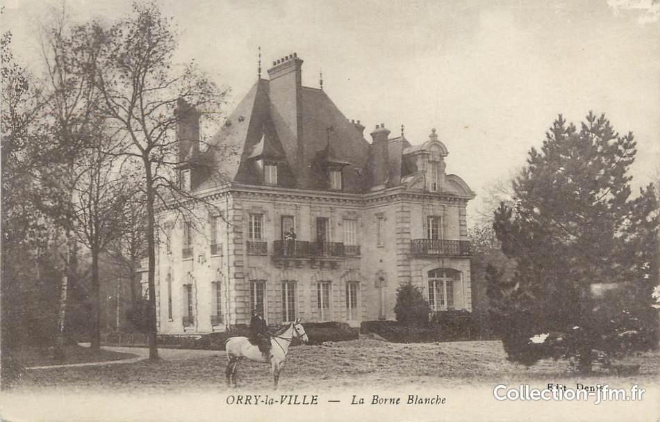 Cpa france 60 orry la ville la borne blanche 60 oise for Liste communes oise