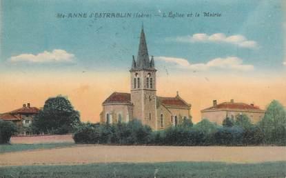 """CPA FRANCE 38 """"Sainte Anne d'Estrablin"""""""