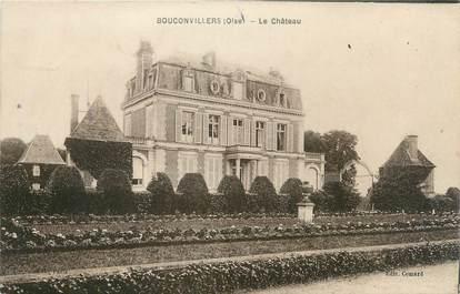 """CPA FRANCE 60 """"Bouconvillers, le château"""""""