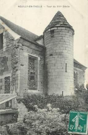 "CPA FRANCE 60 ""Neuilly En Thelle, tour du XVIè siècle"""