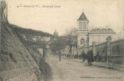 "/ CPA FRANCE 06 ""Grasse, Bld Carnot"""