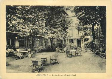 "CPSM FRANCE 38 ""Grenoble, le Grand hôtel"""