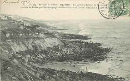 """CPA FRANCE 62 """"Equihen, les falaises du Boulonnais"""""""