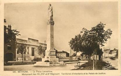 "CPA FRANCE 62 ""Béthune, la Place Lamartine"""