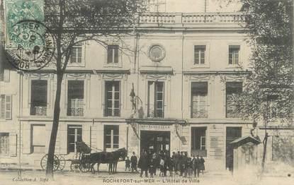 """CPA FRANCE 17 """" Rochefort sur Mer, l'hôtel de ville """""""