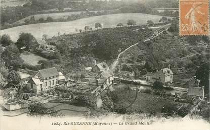 """CPA FRANCE 53 """" Sainte Suzanne """" / moulin"""
