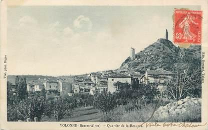 """/ CPA FRANCE 04 """"Volonne, quartier de la Beaume"""""""