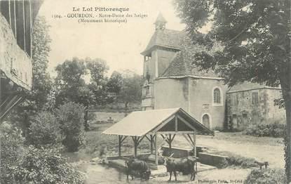 """CPA FRANCE 46 """" Gourdon, Notre Dame des Neiges """""""