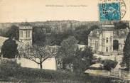 """26 DrÔme CPA FRANCE 26 """"Peyrus, le chateau et l'Eglise"""""""
