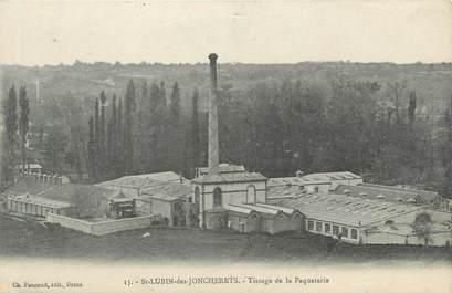 """CPA FRANCE 28 """" Saint Lubin des Joncherets, tissage de la paqueterie """""""