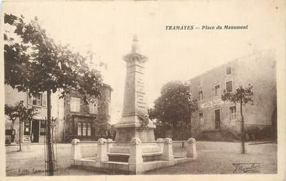 """CPA FRANCE 71 """"Tramayes, le monument aux morts"""""""