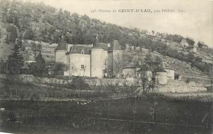 """CPA FRANCE 46 """" château du Ceint d'Eau """""""