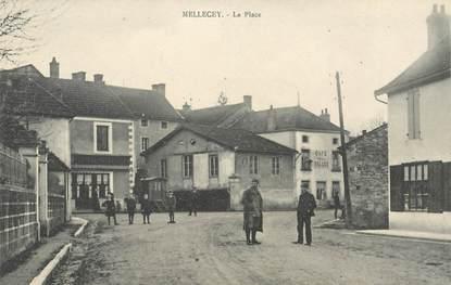 """CPA FRANCE 71 """"Mellecey, la place"""""""