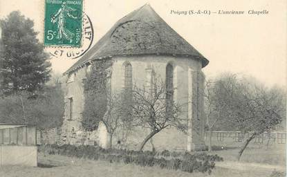 "CPA FRANCE 78 ""Poigny, l'ancienne chapelle"""
