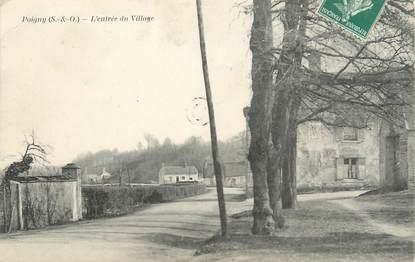 """CPA FRANCE 78 """"Poigny, l'entrée du village"""""""