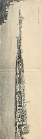 """CPA PANORAMIQUE EGYPTE """"Port Saïd"""""""