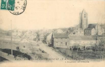 """CPA FRANCE 78 """"Saint Martin de Bréthencourt, vue générale"""""""