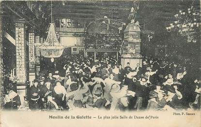 """/ CPA FRANCE 75018 """"Paris, moulin de la Galette"""""""