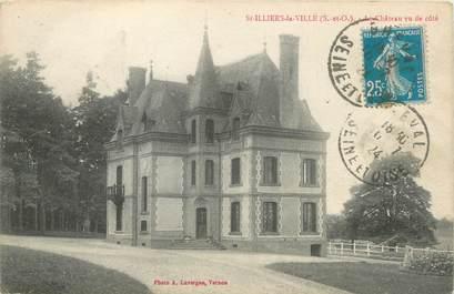 """CPA FRANCE 78 """"Saint Illiers la Ville, le château"""""""