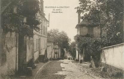 "CPA FRANCE 78 ""Néauphle le Château, grande rue"""