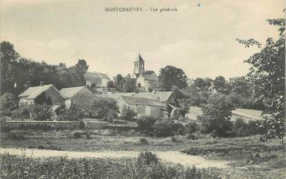 """CPA FRANCE 78 """"Montchauvet, vue générale"""""""