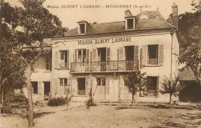 """CPA FRANCE 78 """"Méricourt, maison Albert Laurans"""""""
