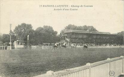 "CPA FRANCE 78 ""Maisons Laffitte, champ de courses"""