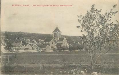 """CPA FRANCE 78 """"Moisson, vue sur l'église et les maisons"""""""