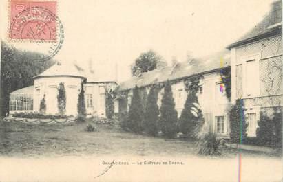 """CPA FRANCE 78 """"Garancières, le château de Breuil"""""""