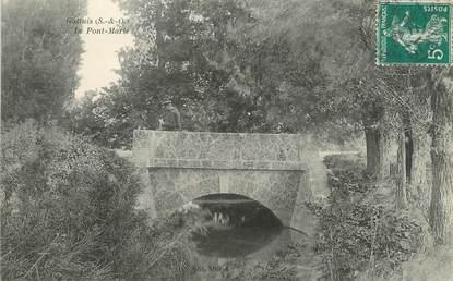 """CPA FRANCE 78 """"Galluis, le pont Marie"""""""