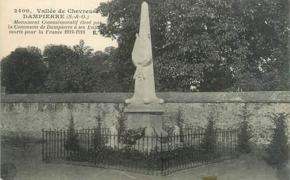 """CPA FRANCE 78 """"Dampierre, monument commémoratif"""""""