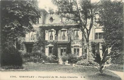 """CPA FRANCE 78 """"Viroflay, propriété de Mr Jules Claretie"""""""