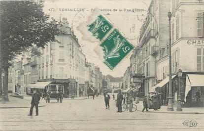 "CPA FRANCE 78 ""Versailles, perspective de la rue Carnot"""