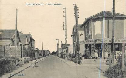 "CPA FRANCE 78 ""Velizy Le Clos, rue Lavoisier"""