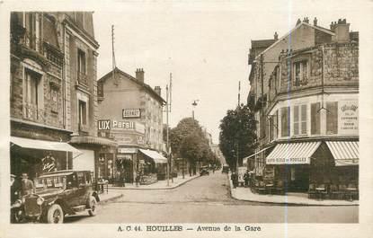 "CPA FRANCE 78 ""Houilles, avenue de la gare"""