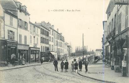 """CPA FRANCE 78 """"Chatou, rue du pont"""""""