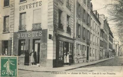 """CPA FRANCE 78 """"Versailles, avenue de Paris"""""""