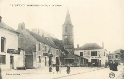 """CPA FRANCE 78 """"Le Mesnil Saint Denis, la place"""""""