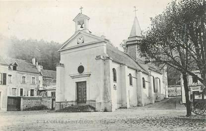 """CPA FRANCE 78 """"La Celle Saint Cloud, l'église"""""""