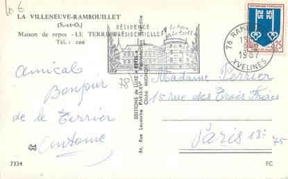 Cpsm france 78 la villeneuve rambouillet maison de repos for Agrandissement maison houilles