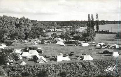 """CPSM FRANCE 78 """"Saint Arnoult en Yvelines, la plage aux champs"""" / CAMPING"""