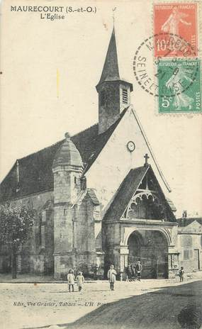 "CPA FRANCE 78 ""Maurecourt, l'église"""