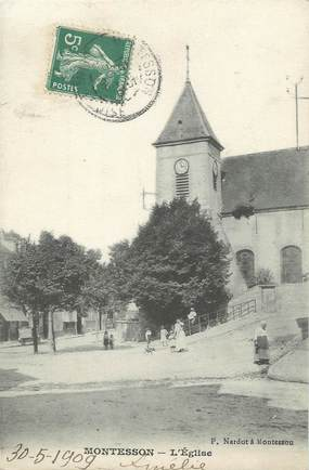 "CPA FRANCE 78 ""Montesson, l'église"""