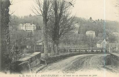 """CPA FRANCE 78 """"Jouy en Josas, le pont et le château de Jouy"""""""