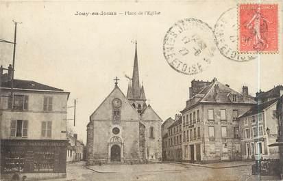 """CPA FRANCE 78 """"Jouy en Josas, place de l'église"""""""