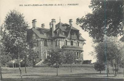 "CPA FRANCE 78 ""Saint Léger en Yvelines, Pincourt"""