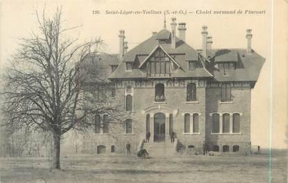 """CPA FRANCE 78 """"Saint Léger en Yvelines, chalet norman de Pincourt"""""""