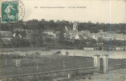 """CPA FRANCE 78 """"Saint Léger en Yvelines, la vue générale"""""""